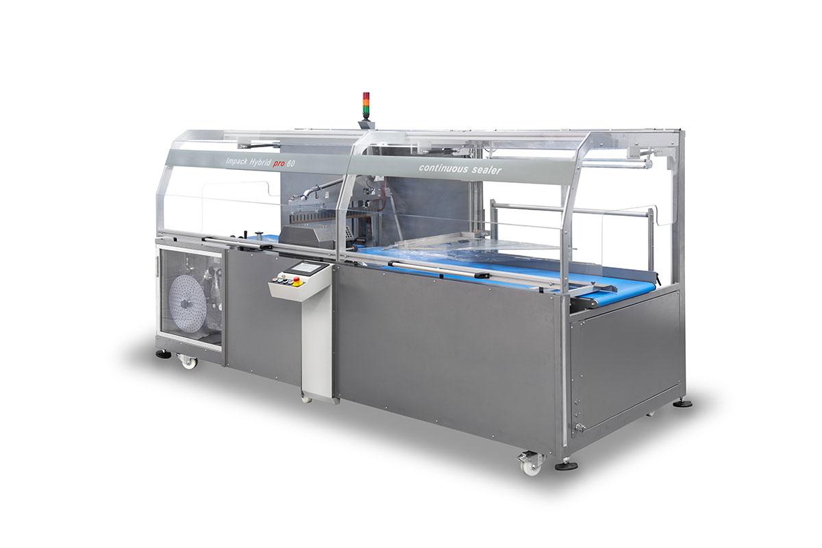 IMPACK Hybrid Sabit Çeneli Otomatik Shrink Makinesi (Yüksek Ürünler için)