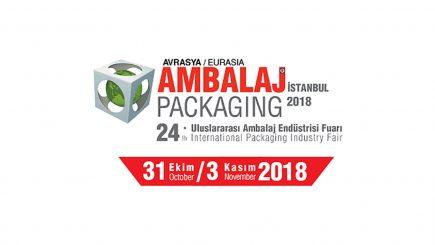 24ª EURASIA EMBALAGEM FAIR 2018, ISTAMBUL, TURQUIA