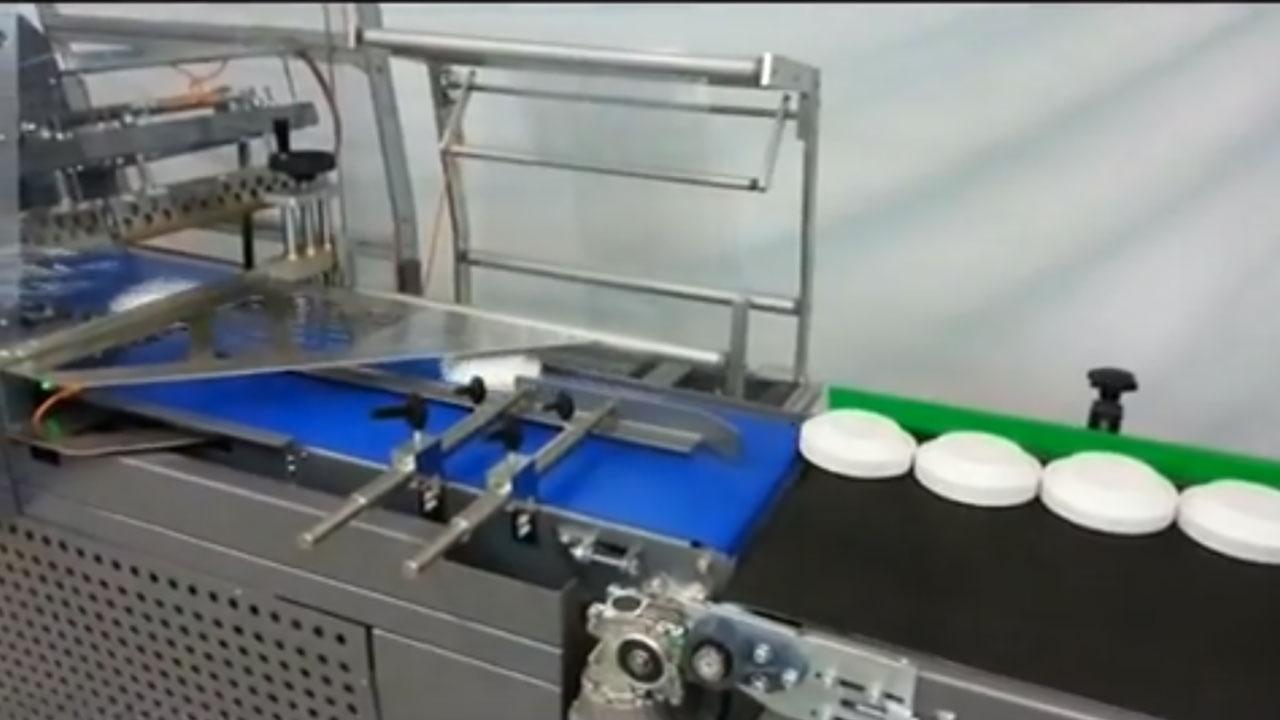 CLS, Embalagem retrátil de pratos descartáveis