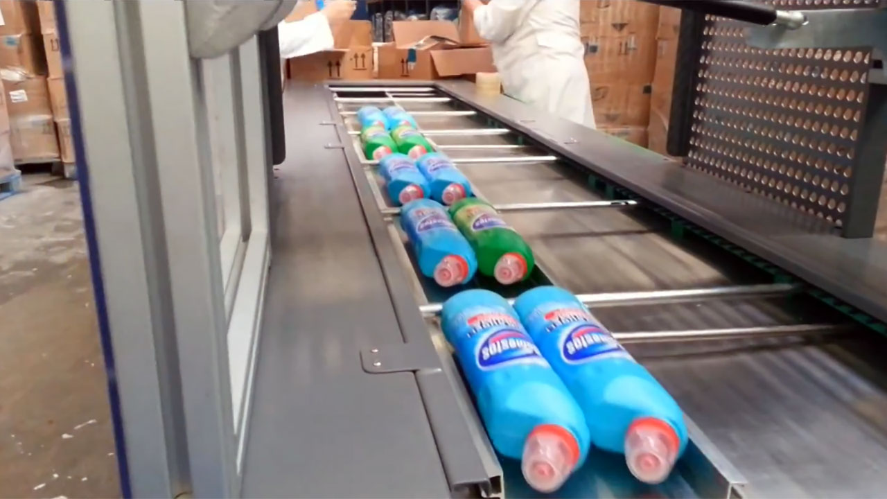 Impack Motion, Detergent Bottle Packing/ Co-packing