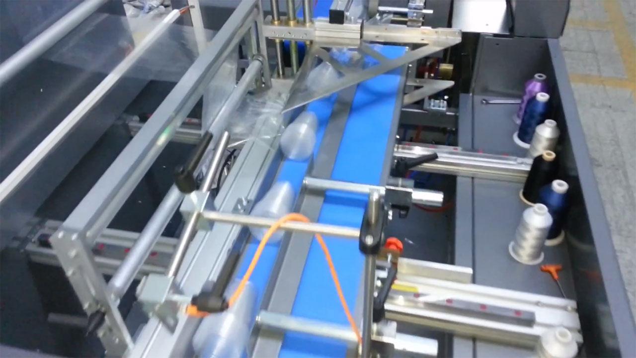 Impack Motion, Embalagem retrátil de artigos descartáveis com seladora lateral