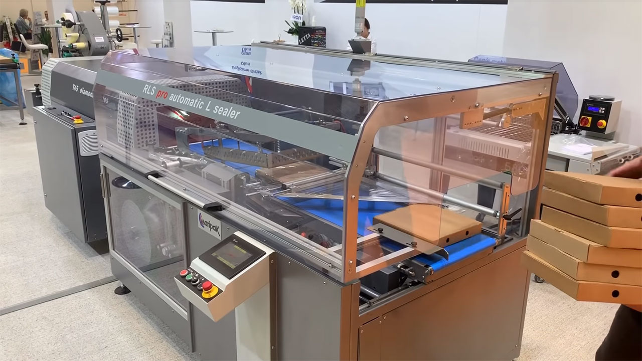 RLS, Automatic L Sealer Shrink Wrapping Machine