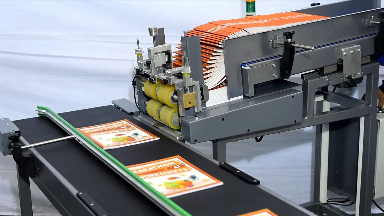 Shuttle Feeder, Thick Book & Magazine Feeder