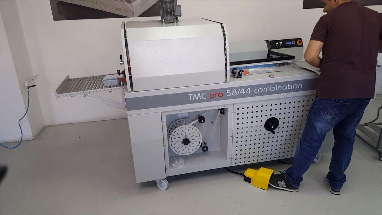 TMC PRO Serisi, Yarı Otomatik Monoblok L-Kesim Ve Tünel Kombinasyonu