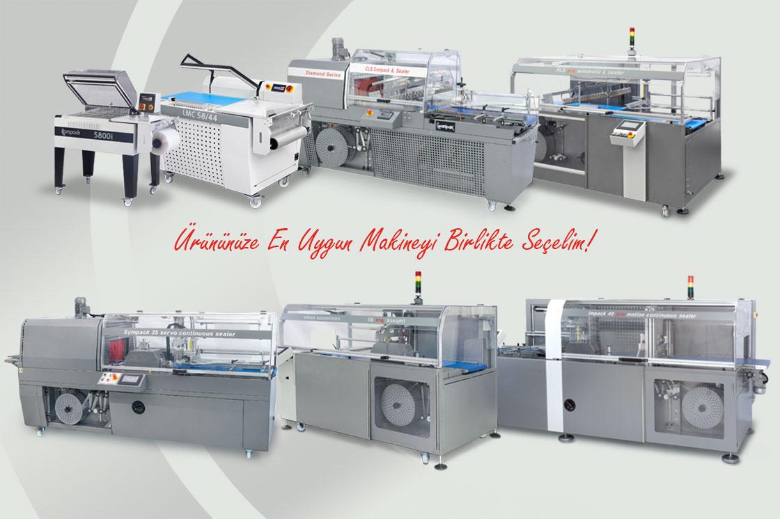 Manuel – Otomatik Shrink Paketleme Makinaları