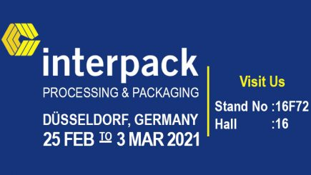 INTERPACK 2021 PACKAGING FAIR, GERMANY