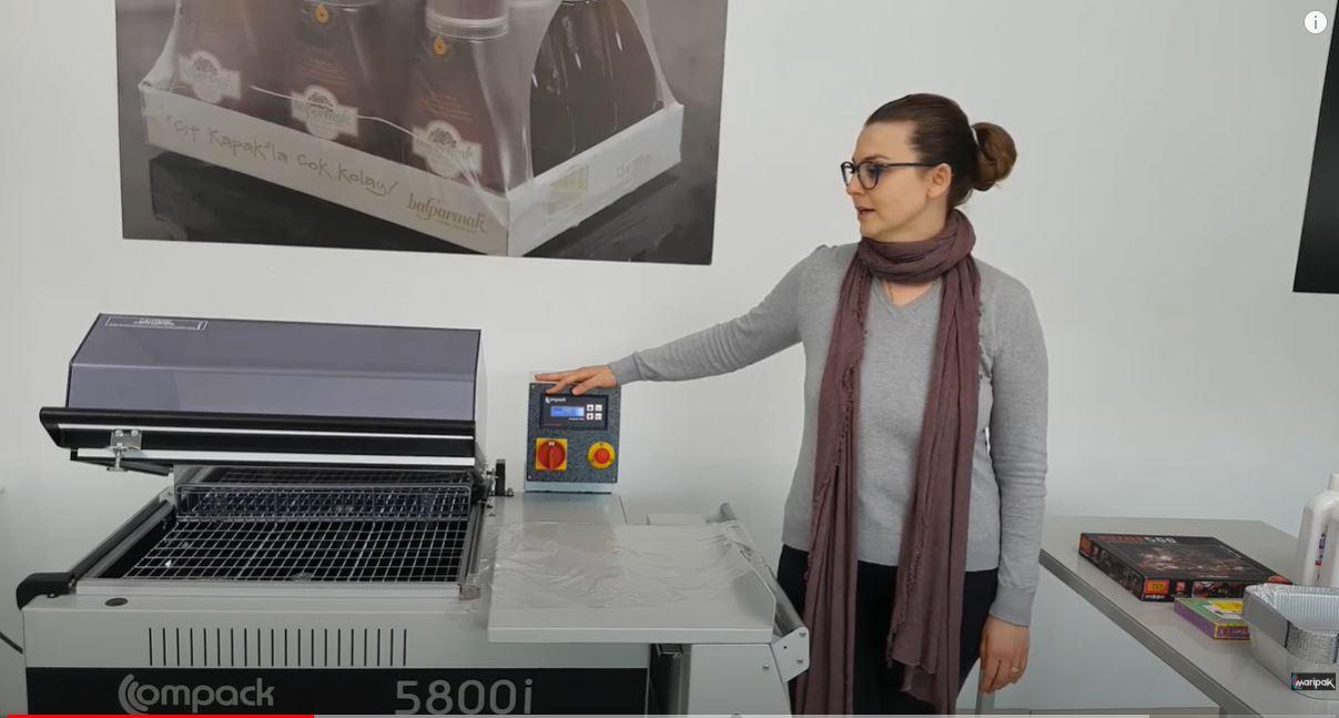 Compack 5800i Shrink Makinesi Nasıl Kullanılır?