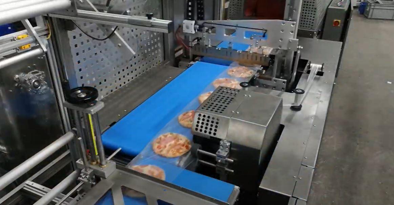 Frozen Pizza Shrink Packaging