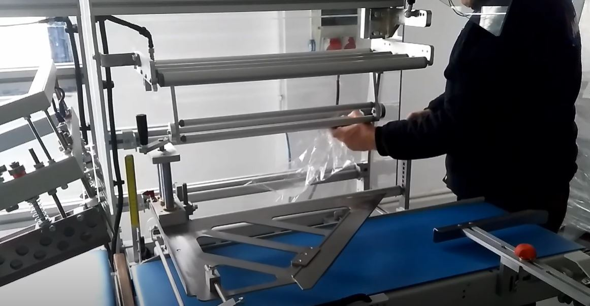 How to load Shrink Film onto an Automatic Shrink Wrapper
