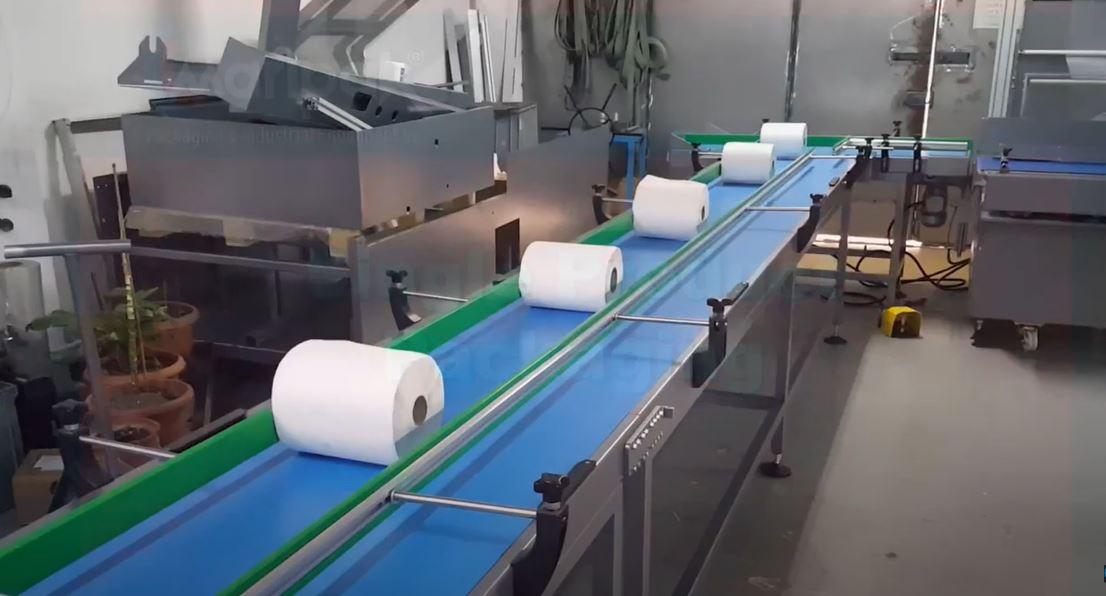 Impack 60 Hybrid, Kağıt Havlu Ruloları Shrink Paketleme