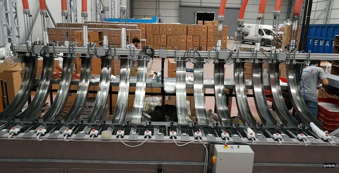 Karton Bardak Gruplama – Paketleme Otomasyonu