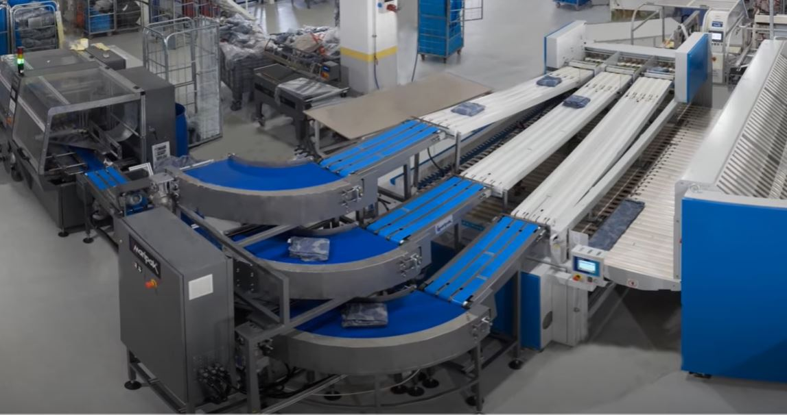 Laundry Automation for Packaging