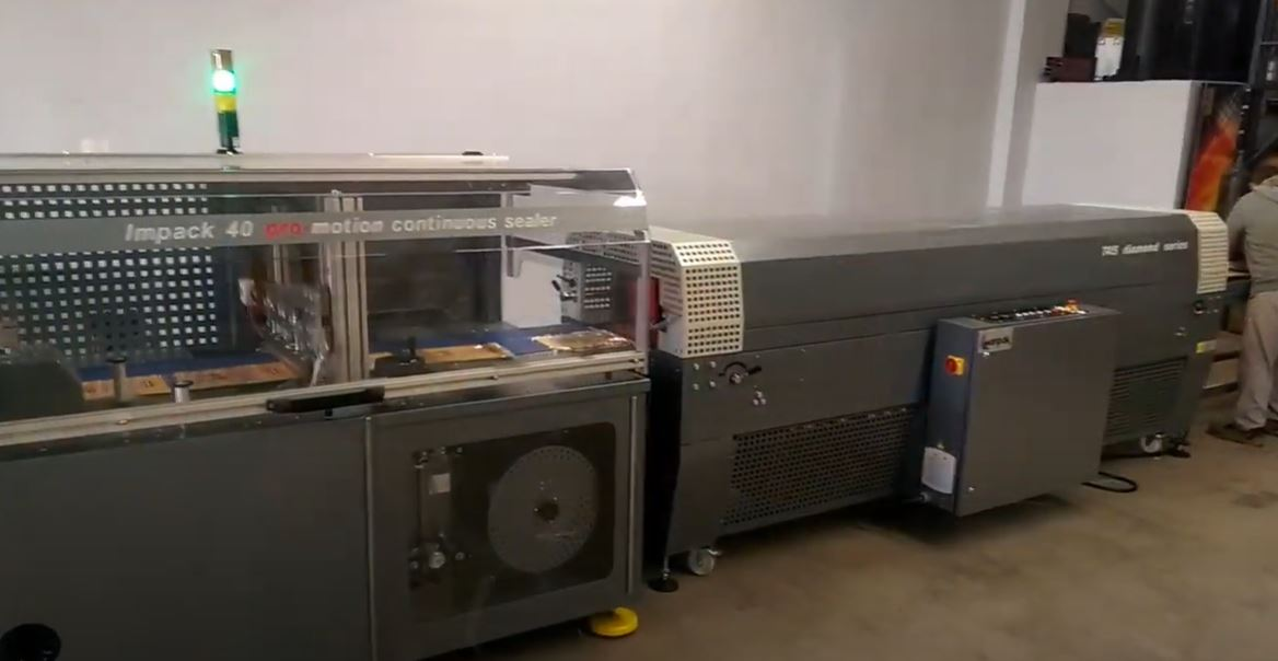 Magazine Packaging Machine