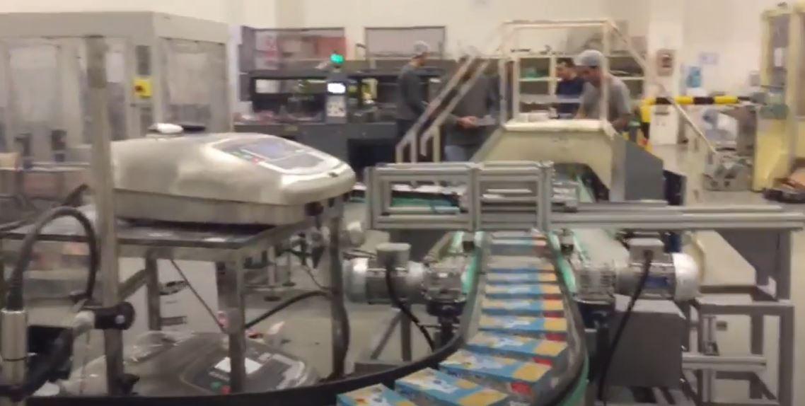 Napkin Box Packaging Machine