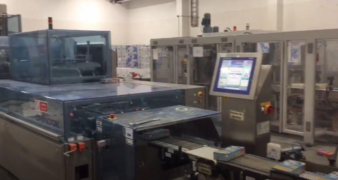 IMPACK 40 MOTION, Peçete Kutuları Paketleme Makinesi