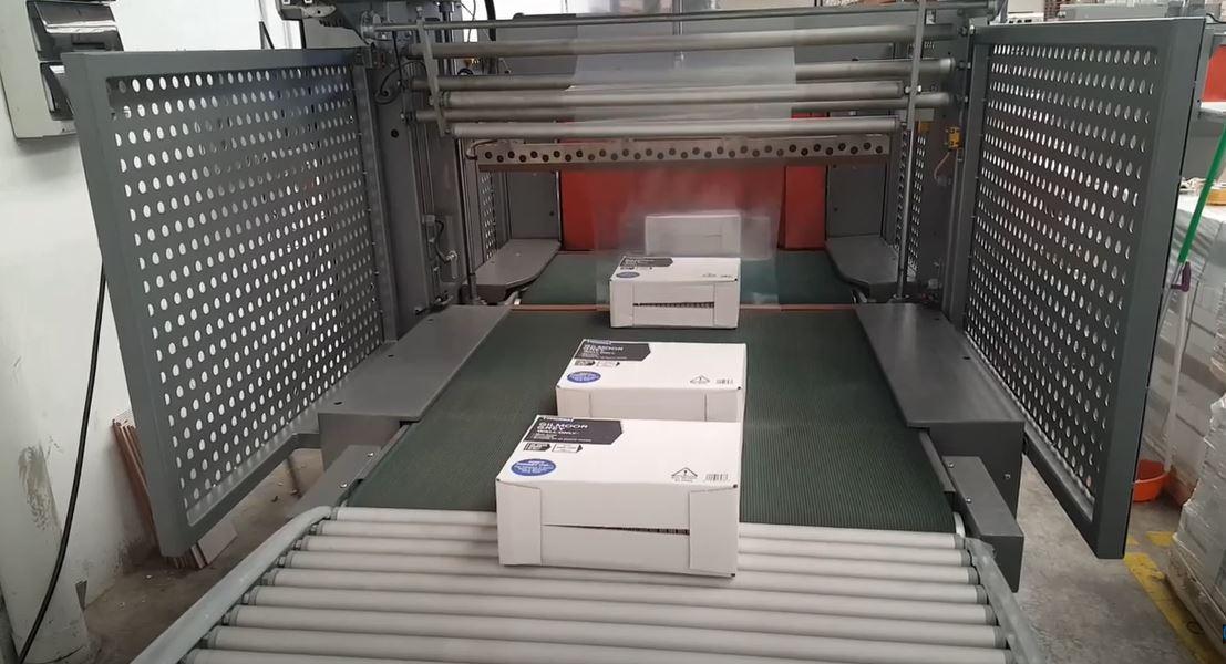 Multimac 80D, Seramik Fayans PE Shrink Paketleme
