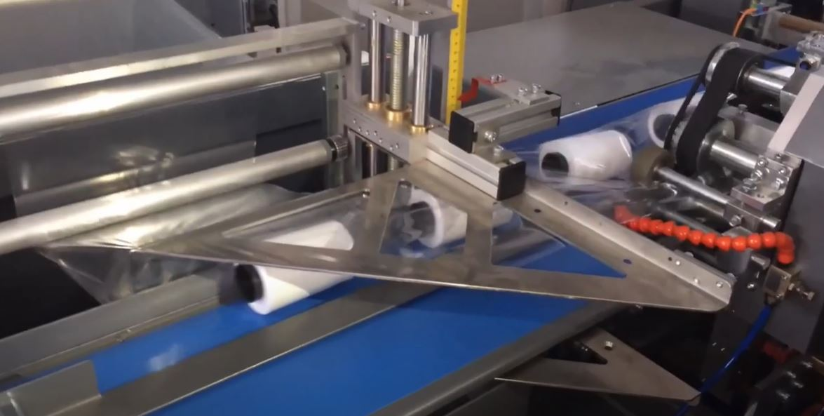 Sewing Threads Shrink Packaging Line