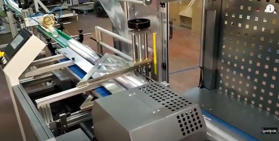 Kullan At Bardak Paketleme ve Gruplama Makinesi