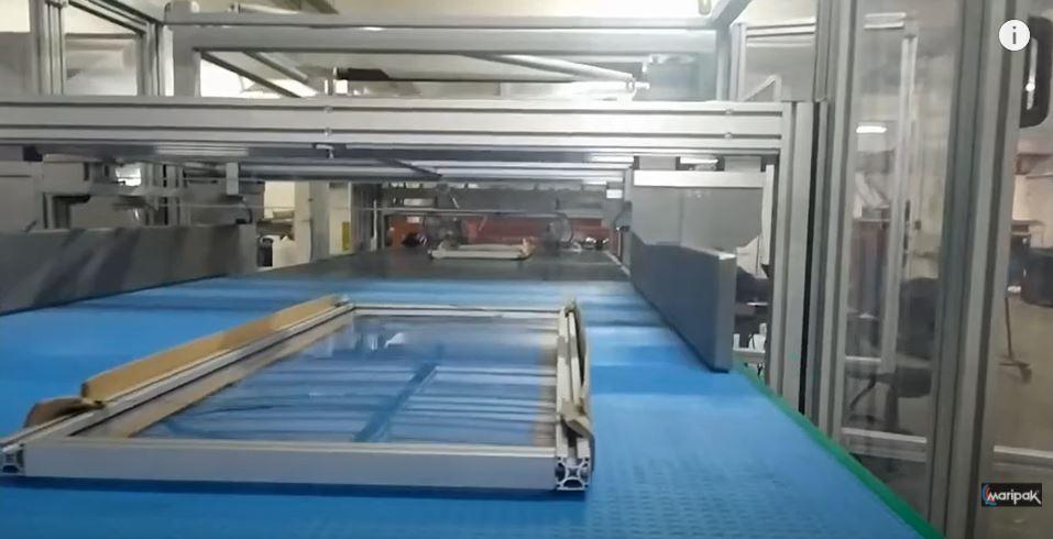 Pencere Çerçevesi Paketleme Makinesi